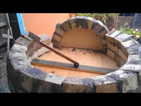 how to build a wood fired pizza bread oven