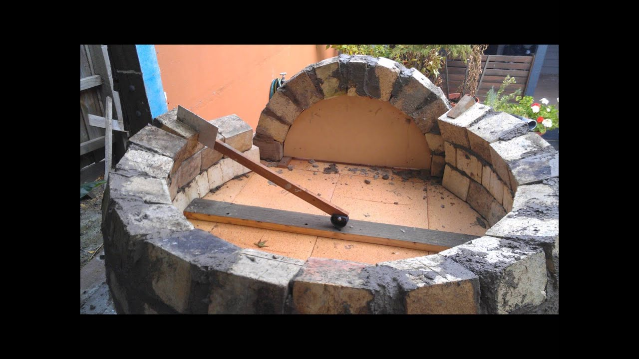 how to build a wood fired pizza bread oven youtube