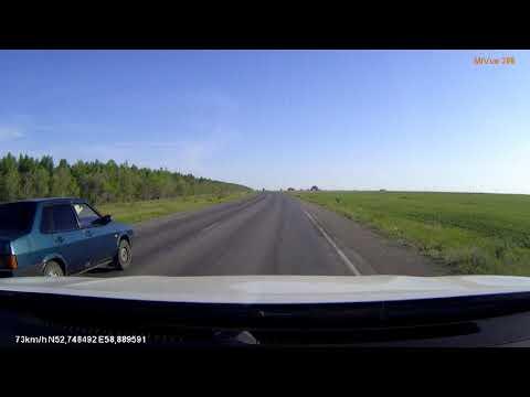 Дорога на Магнитогорск от села Кизильское, Россия