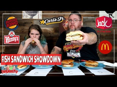 Fish Sandwich Showdown || Drive Thru Thursday
