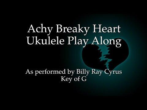 Achy Breaky Heart Ukulele Play Along (in G)