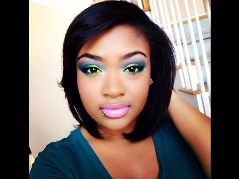 """Bright And BOLD Corlorful Makeup Tutorial """"Take Me To Brazil"""""""