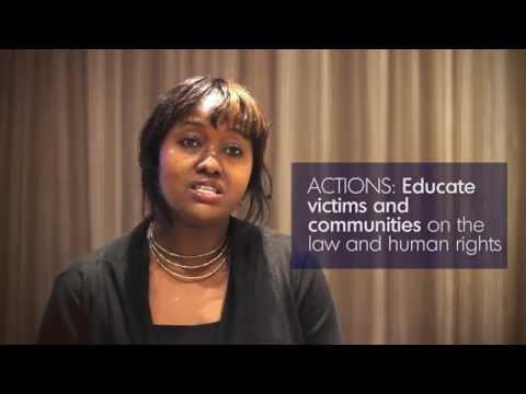 Combating gender-based violence in Africa