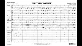 Don't Stop Believin' arranged by Paul Murtha