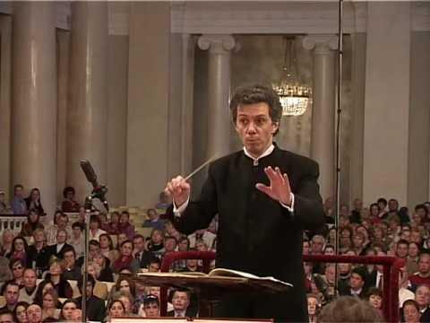 Alexander Polishchuk conducting Beethoven Symphony No.5 1 mov.