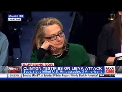 John McCain to Hillary Clinton on Benghazi: Your Answers Are Not Satisfactory - 1/23/13