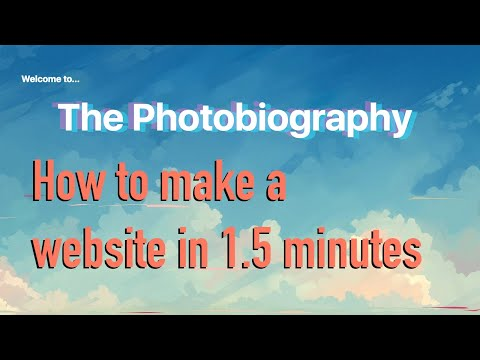 How To:  Make A Webpage In 1.5 Minutes (HTML)