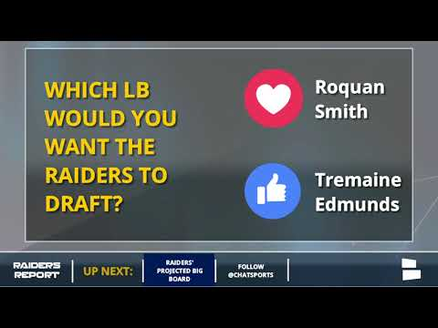 Projecting The Oakland Raiders' Big Board For The 2018 NFL Draft
