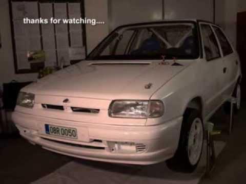 Skoda Felicia Rally Gr.A Car Built