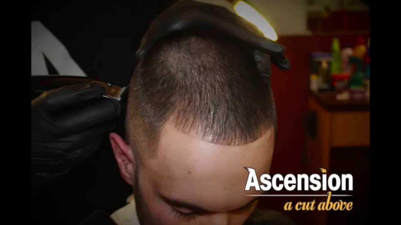 Cutting Outline With Receding Hairline   YouTube