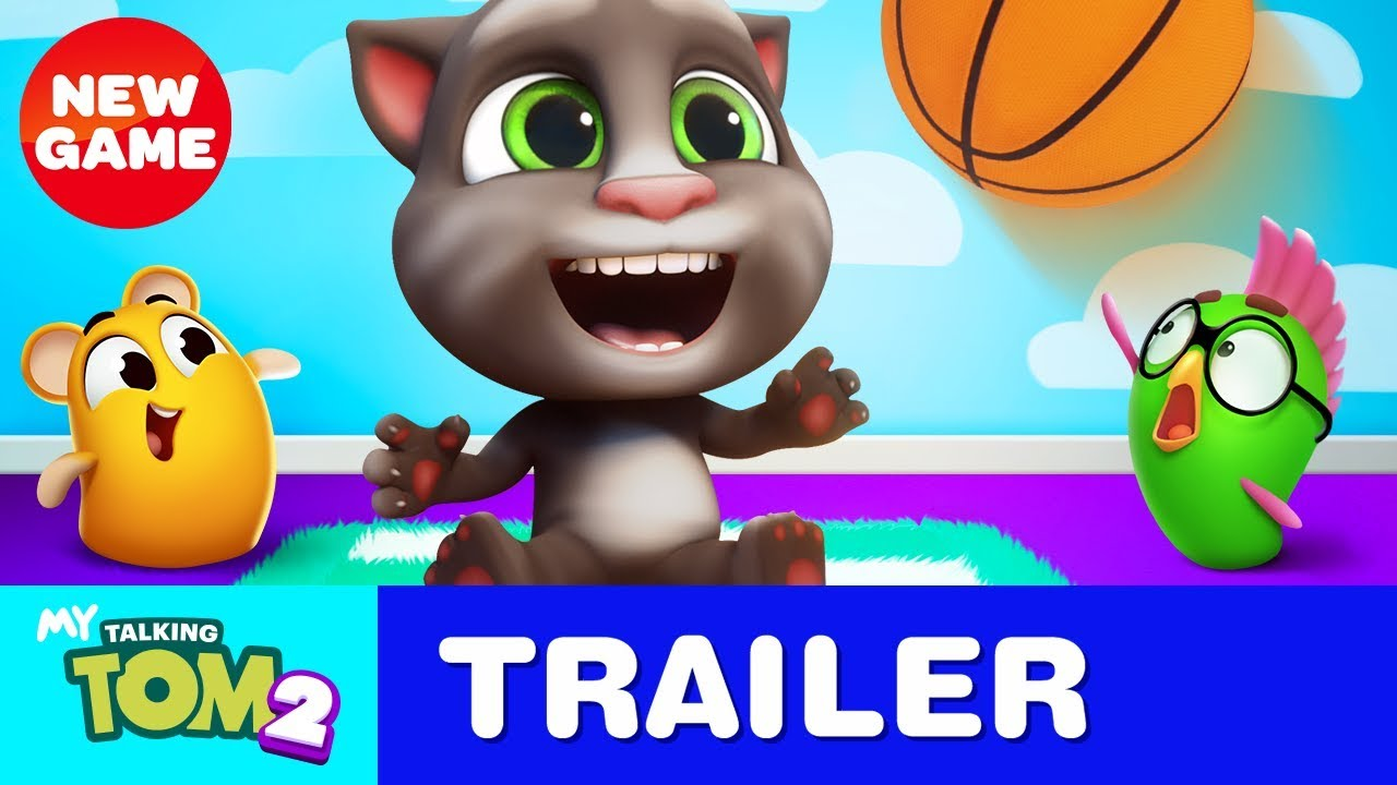 My Talking Tom 2 Is Here New Game Official Trailer Youtube