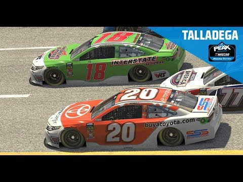 Full Race: eNASCAR Peak iRacing Series: Talladega