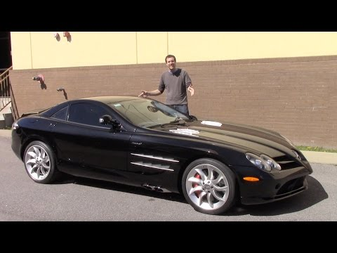 Thumbnail: The Mercedes SLR Is the Forgotten $500,000 Supercar
