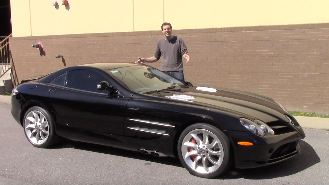 The Mercedes Slr Is The Forgotten 500 000 Supercar Youtube
