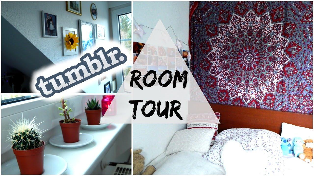 mein kleines zimmer ! |roomtour #2 tumblr inspired - youtube, Moderne deko