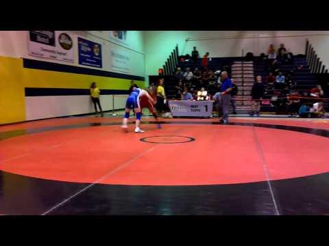 2014 Ontario Juvenile Championships: 49 kg Kaitlyne Pretii vs. Rhiannon Digweed