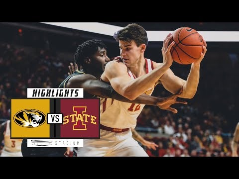 Missouri vs. Iowa State Basketball Highlights (2018-19) | Stadium