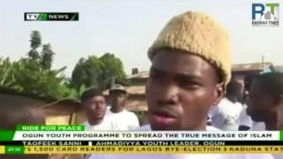 Nigerian Ahmadiyya Muslim organize 'Ride for Peace'