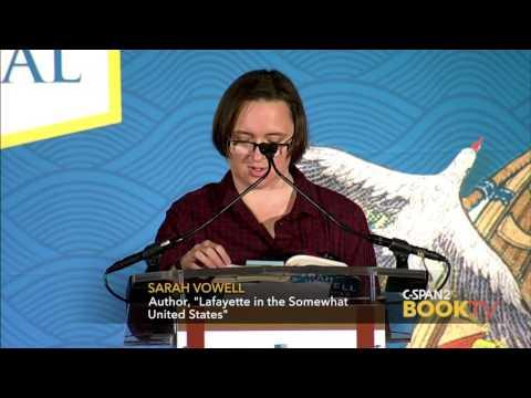 2016 National Book Festival: Sarah Vowell,