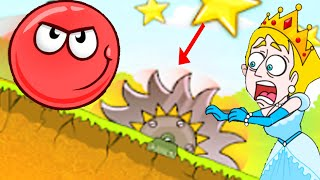Save The Girl Vs Red Ball 4 - Gameplay Walkthrough Android - Funny Win/Fails Moments Compilation