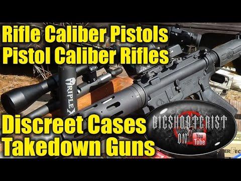 Discreet Takedown Guns