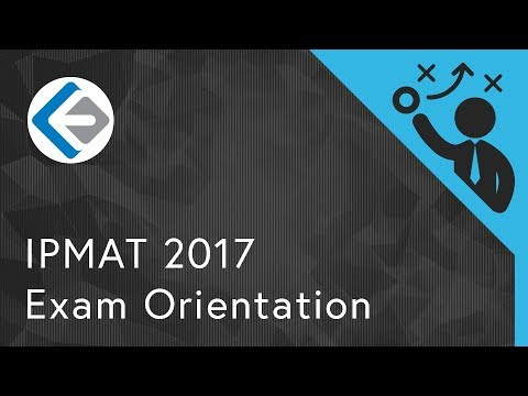 Exam Orientation: IPM Aptitude Test (IPMAT) 2017 | IIM Indore 5 Year Program