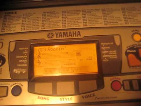 yamaha psr 280 demo song 3 rockin 39 youtube. Black Bedroom Furniture Sets. Home Design Ideas