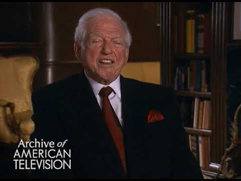 Sidney Sheldon on his success, and advice for an aspiring writer - TelevisionAcademy.com/Interviews