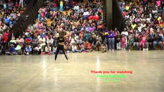 Shunjai from Dancing Dolls  DD4L performs in Greenville Mississippi