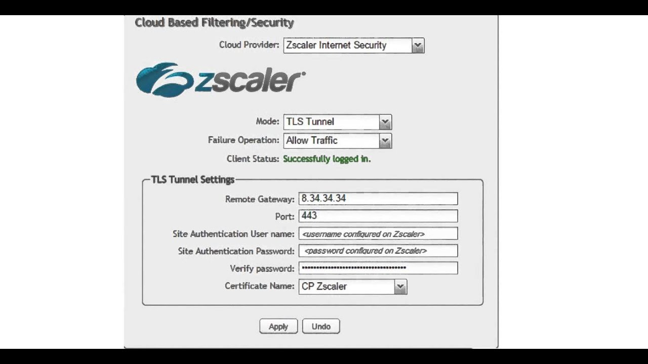 Video: How do I configure a TLS tunnel to Zscaler Shift
