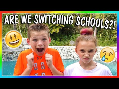 ARE WE CHANGING SCHOOLS? | We Are The Davises