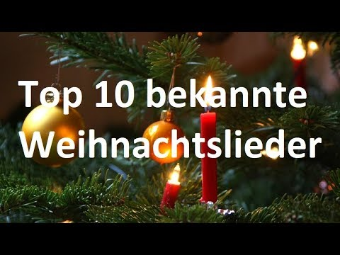 top 10 bekannte weihnachtslieder weihnachtsspecial youtube. Black Bedroom Furniture Sets. Home Design Ideas