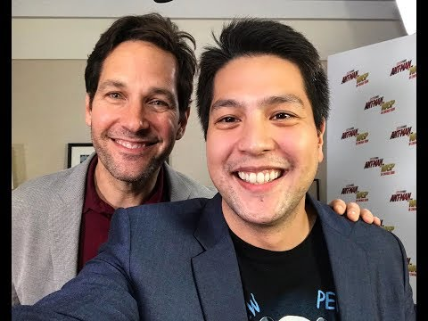 AntMan and The Wasp  1 on 1 with Paul Rudd