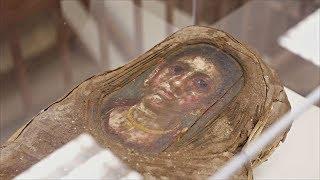 Египетскую мумию исследовали в ускорителе заряженных частиц (новости)