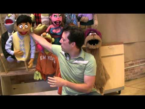 Behind the scenes: Puppetry in 'Avenue Q'