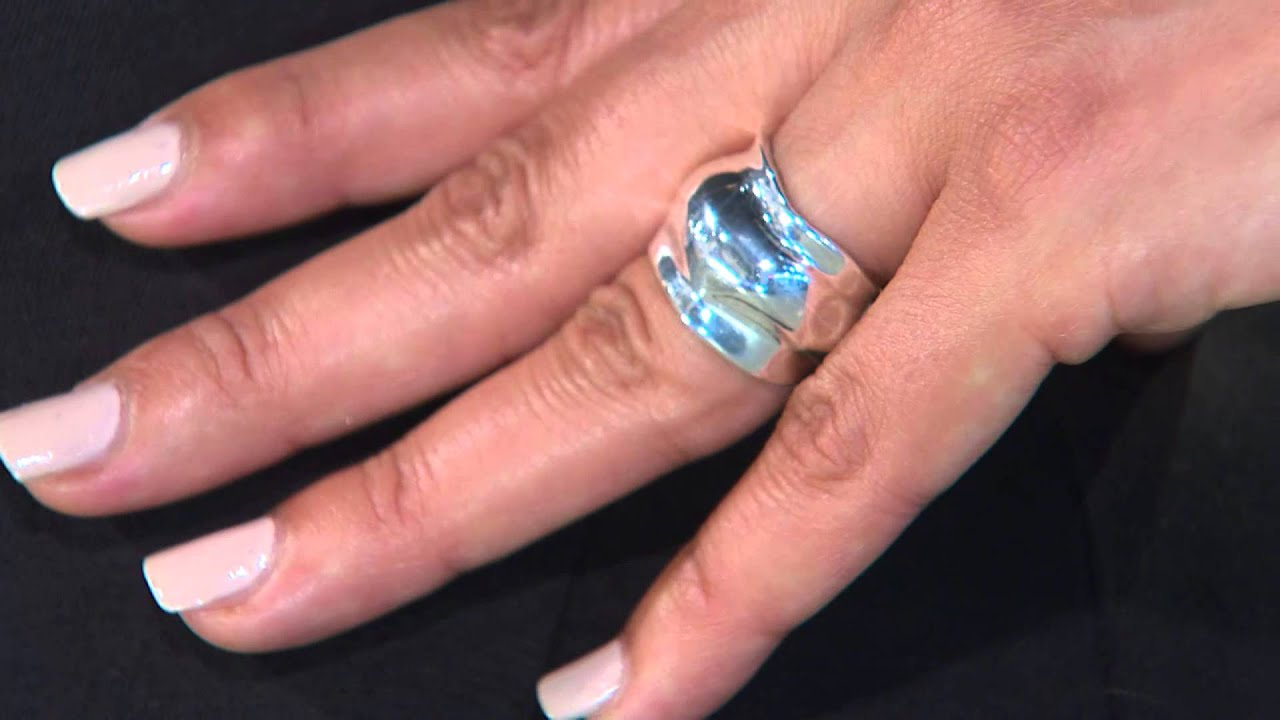 RLM Bronze Molten Bubble Sculpted Band Ring with Jill Bauer - YouTube