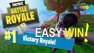 EASY WIN! - FORTNITE Battle Royale Season 5 - SQUAD BATTLE ROYALE
