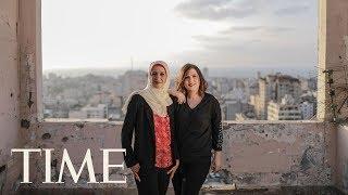 Bassma Ali & Rasha Abu-Safieh On Providing Hope To The Gaza Youth | Next Generation Leaders | TIME