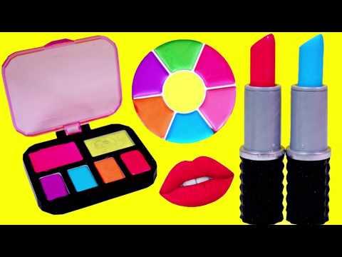 립스틱 파란색 립스틱? 크레용 메이크업 립스틱 파렛트 만들기 DIY Project Mc2 Lipstick