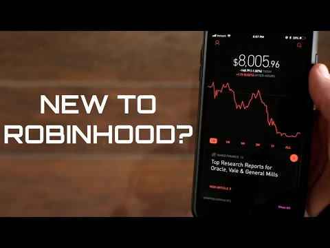How to use the ROBINHOOD APP for beginners 2018