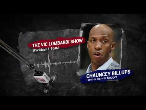 Chauncey Billups joins The Vic Lombardi Show