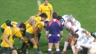 Los Pumas vs Australia en Mendoza (Rugby Championship 2014)
