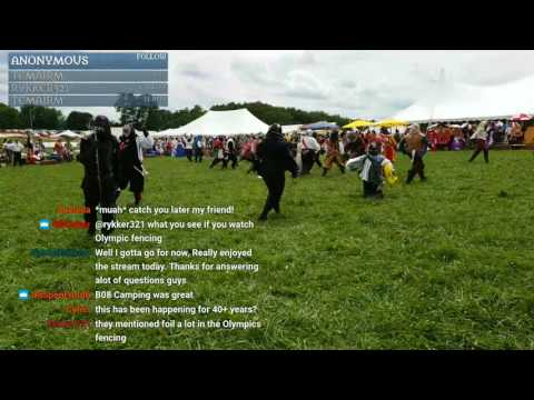Fencing, tour, shopping - SCA - Pennsic