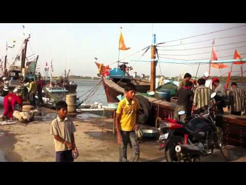 Diu Vanakbara Fish Market
