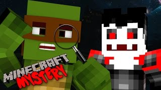 Minecraft Mystery - TINYTURTLE BECOMES A TRUE DETECTIVE!