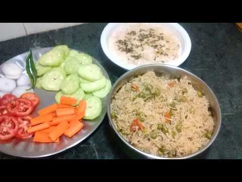 Indian Lunch Routine ideas ||Indian Lunch Routine 2017 || Indian Vegetarian Meal Planning