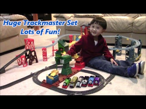 Thomas And Friends Trackmaster Mad Dash On Sodor Set Unboxing