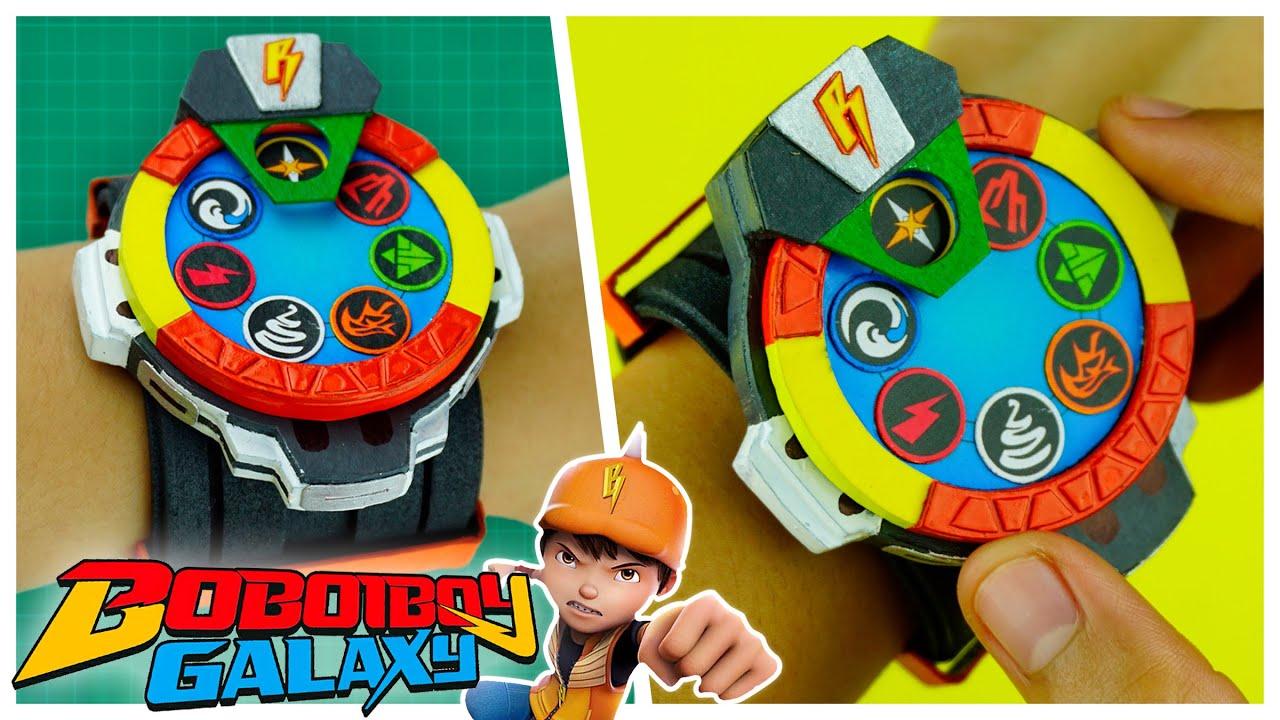 How To Make BOBOIBOY Galaxy Elemental Power Watch +Free Template   Easy DIY Creation