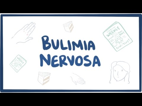 Bulimia nervosa causes, symptoms, diagnosis, treatment & pathology