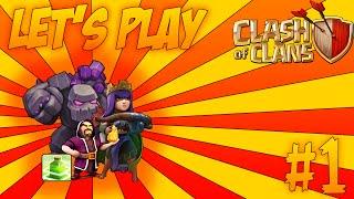 Clash Of Clans Let's Play #1: Attacco In War - Gowipe + Pozione Salto + Regina Degli Arcieri!